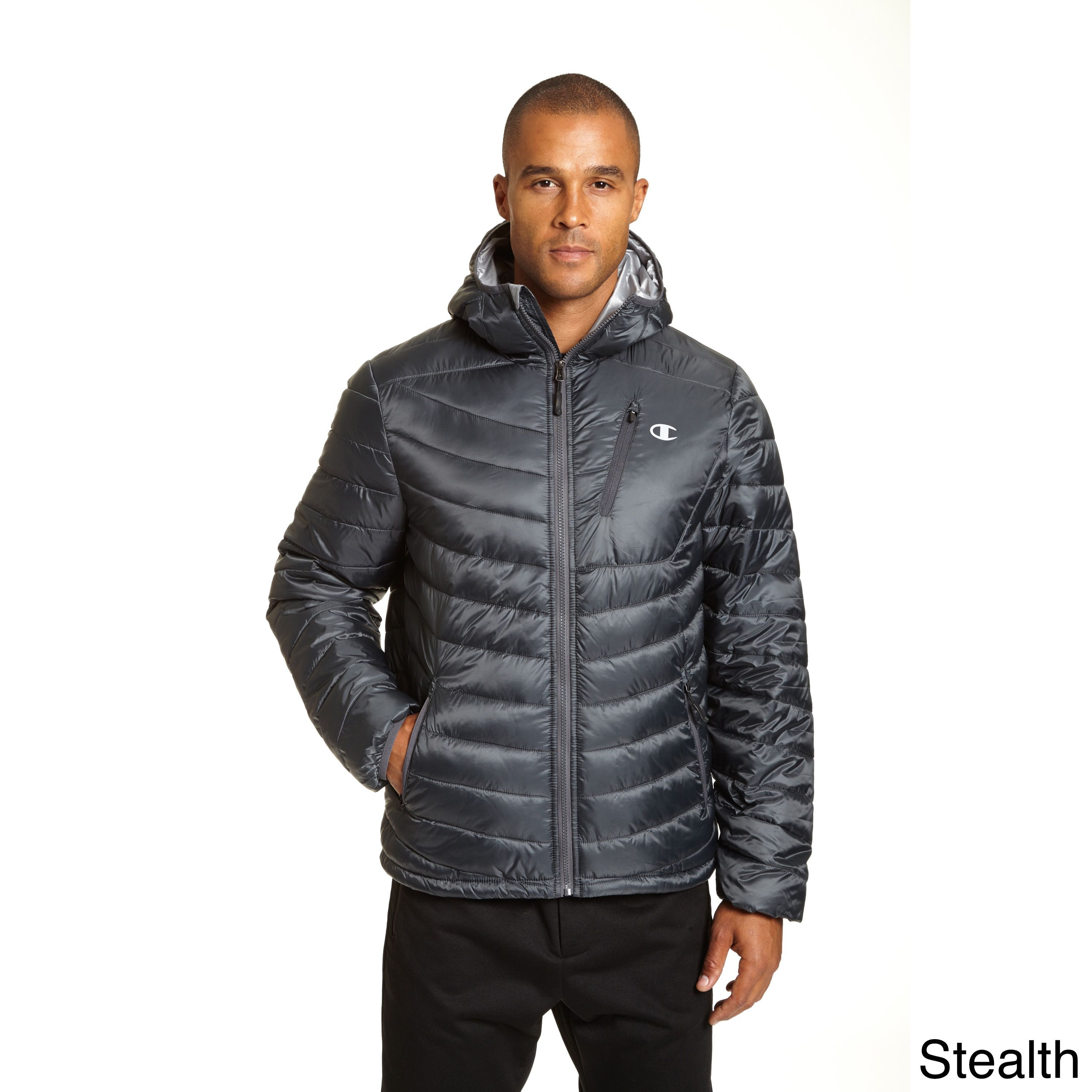 Champion Men's Big and Tall Featherweight Insulated Packable Jacket