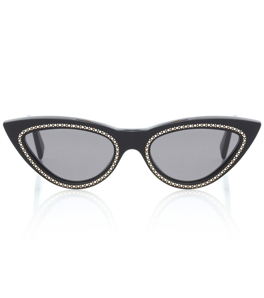 81e426dc633d Celine Eyewear - Embellished cat-eye sunglasses - Update any ensemble with  insouciant glamour by opting for these sparkling sunglasses from Celine  Eyewear.