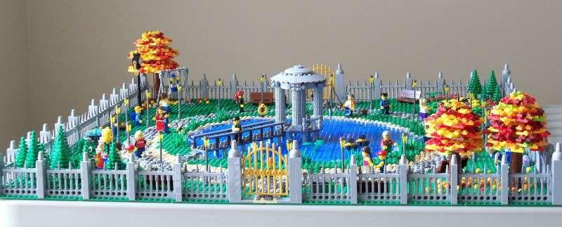 Lego Moc Park Google Search Lake Park Lego City Lego