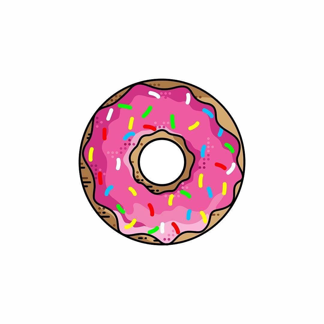 Пончики картинки для рисования