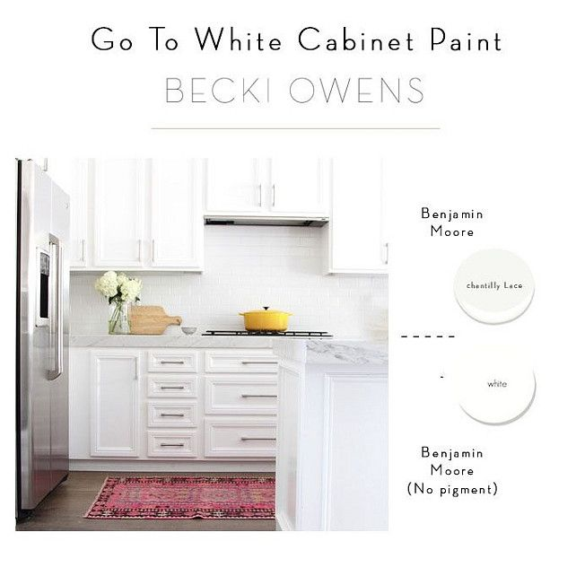 Best Go To White Cabinet Paint Interior Designer Recommended 400 x 300