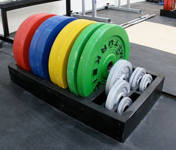 Quick & dirty plate rack strength and conditioning at home gym