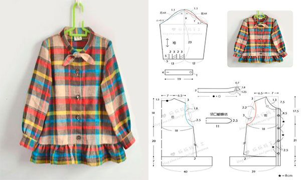 Como hacer un vestido manga larga para nina