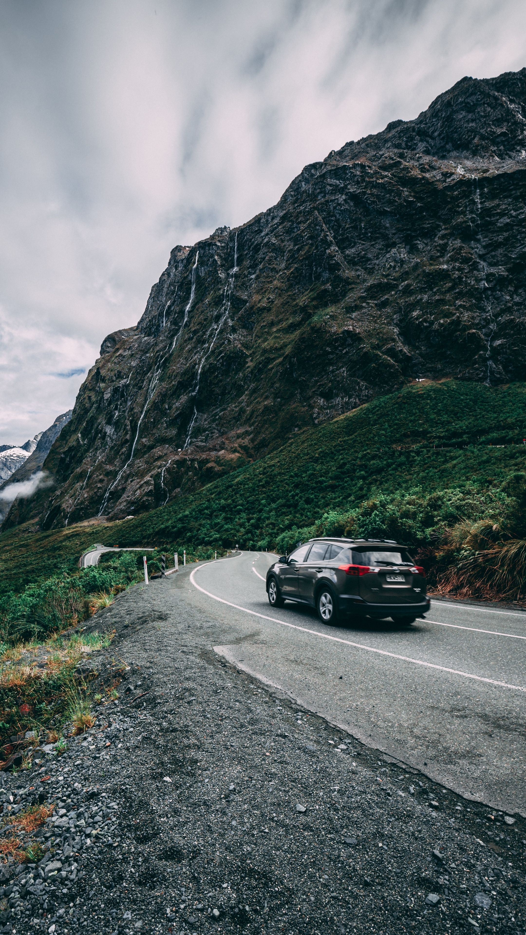 Cars Auto Mountains Road Wallpapers Hd 4k Background For