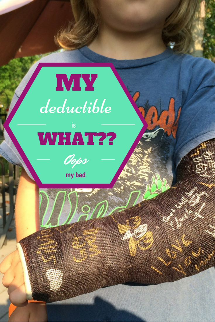 My health insurance deductible is what??? (With images ...