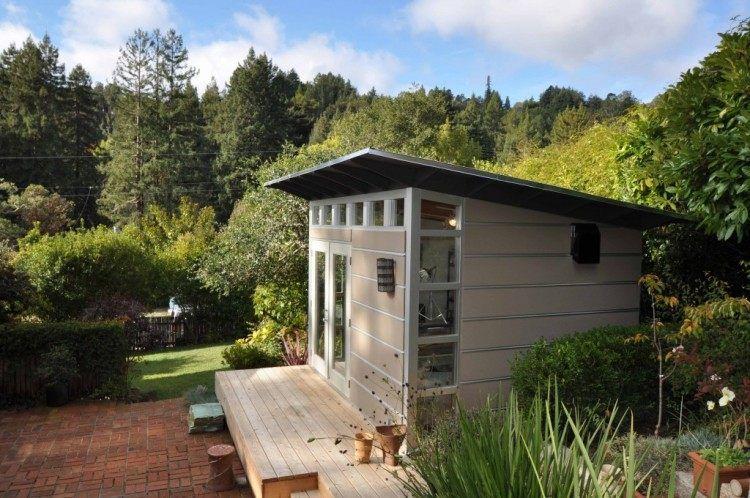 Cabane de jardin moderne et fonctionnelle plus de 25 photos Wall