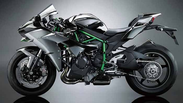 Kawasaki Ninja H2 Launched In India At Rs 29 Lakhs With Images