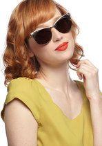 When in Chrome Sunglasses | Mod Retro Vintage Sunglasses | ModCloth.com