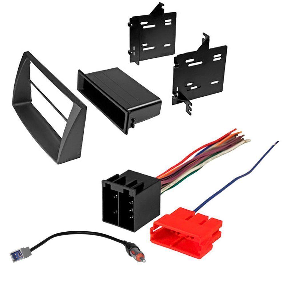 hyundai elantra 2008 2010 car stereo radio cd player receiver install mounting kit wire harness radio antenna adapter [ 1000 x 1000 Pixel ]