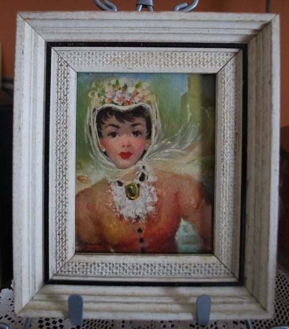 Check out this item in my Etsy shop https://www.etsy.com/listing/269510028/shabby-chic-mid-century-vintage-ladies