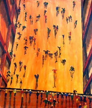 "Saatchi Online Artist Karol Krocka; Painting, ""Frühling in Tate"" #art"