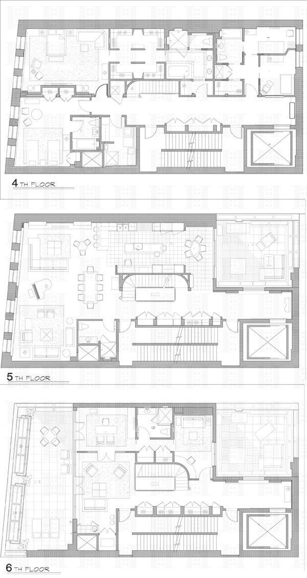 43 Clarkson St In West Village Manhattan Streeteasy Floor Plans Apartment Floor Plans Floor Plan Design