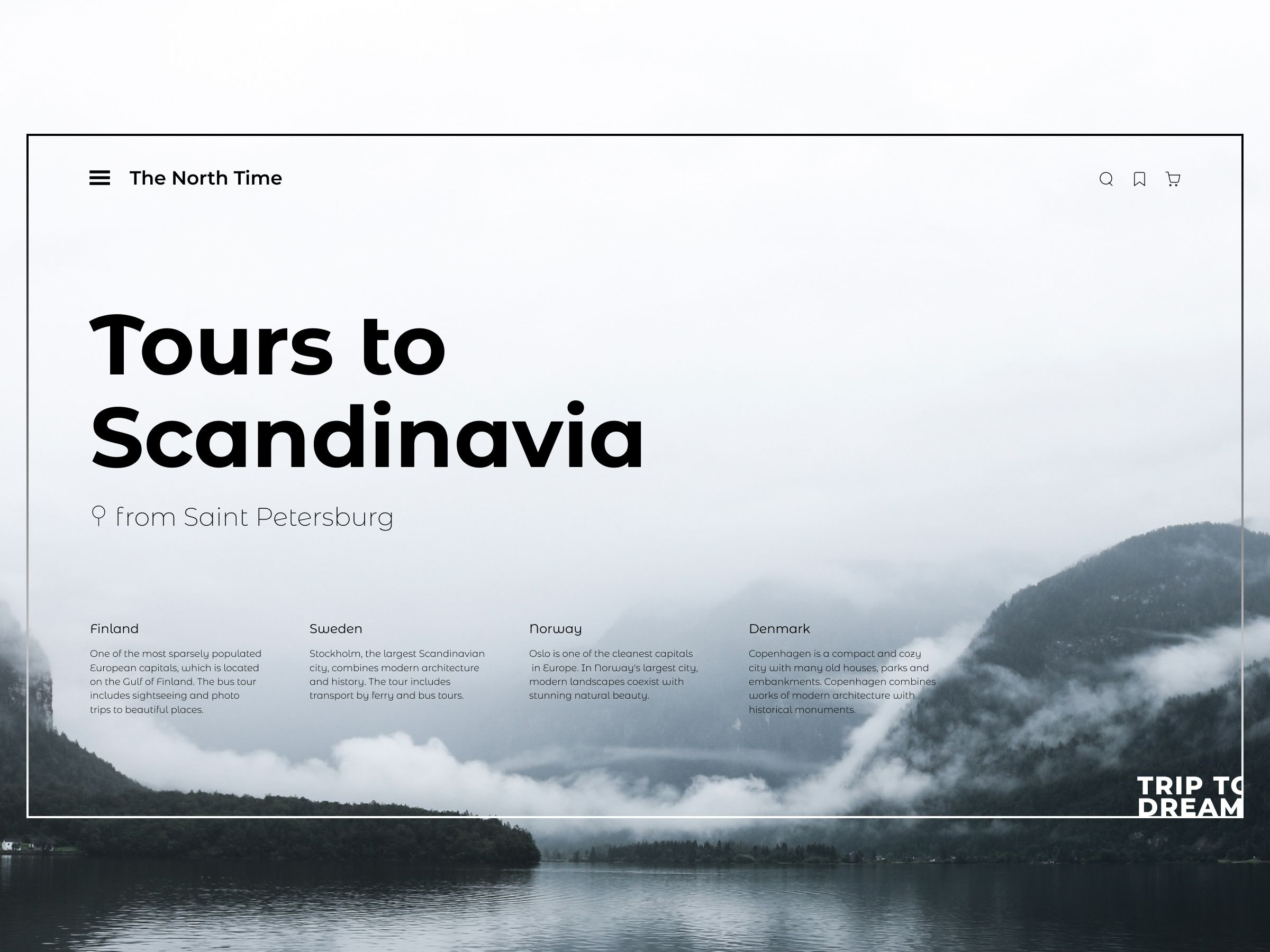 Tours To Scandinavia Scandinavia Web Design Tours