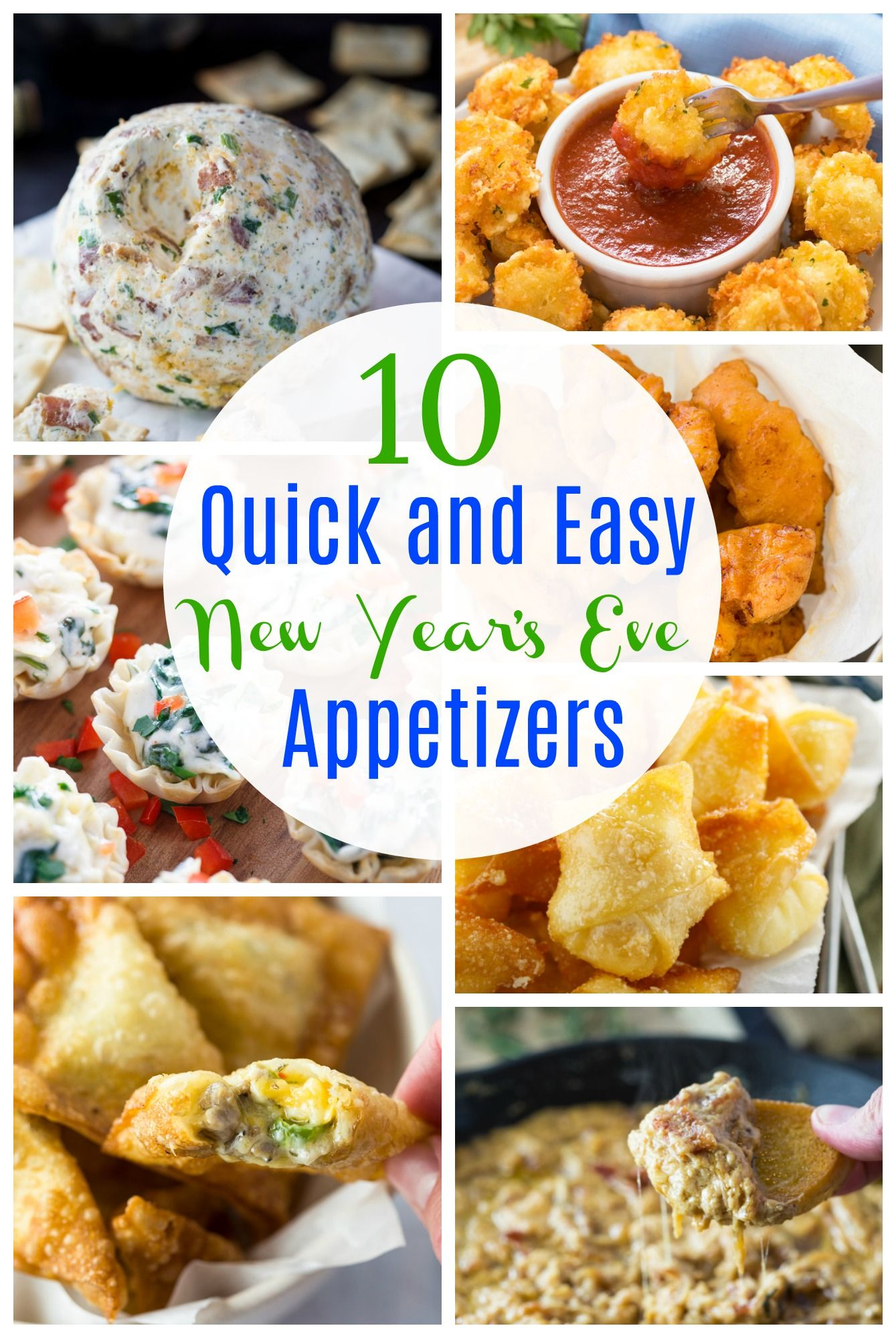 10 quick and easy New Year's Eve Appetizers Appetizers