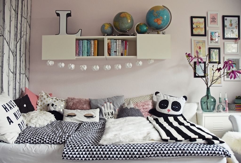 teenager m dchen zimmer teen room makeover zimmer m dchen kinderzimmer und jugendzimmer. Black Bedroom Furniture Sets. Home Design Ideas