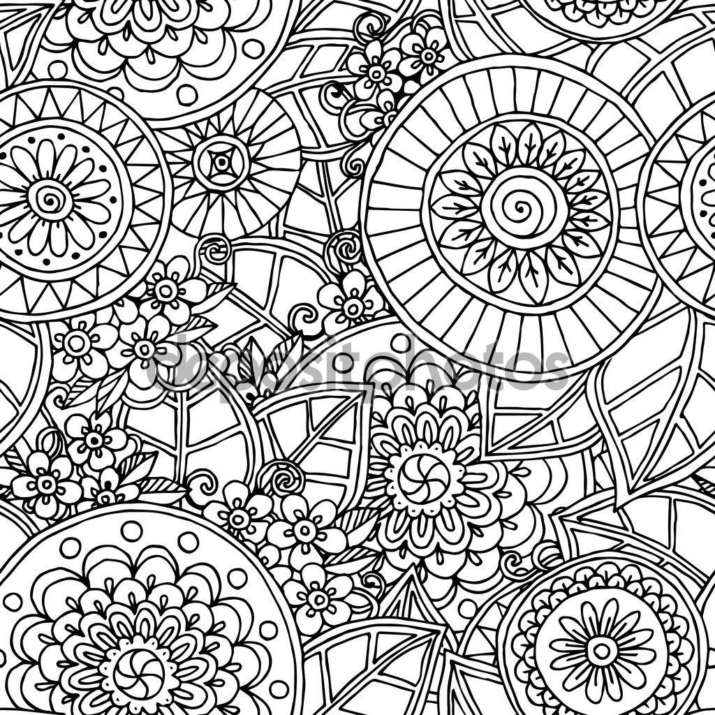 Fondos De Pantalla Zentangle Blanco Y Negro