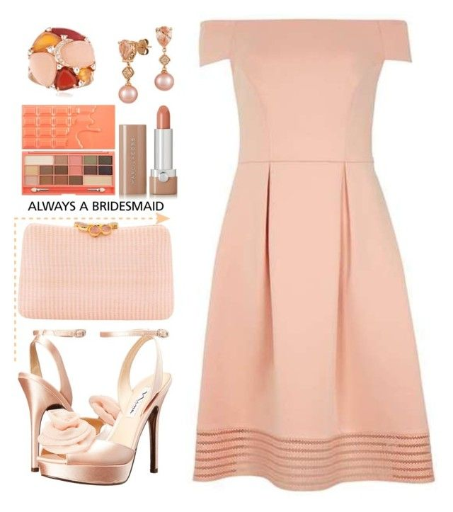 """""""Always A Bridesmaid II"""" by letiperez-reall ❤ liked on Polyvore featuring Dorothy Perkins, Nina, Serpui, LE VIAN, Ross-Simons, Marc Jacobs, polyvoreeditorial, polyvorecontest, polyvorefashion and alwaysabridesmaid"""