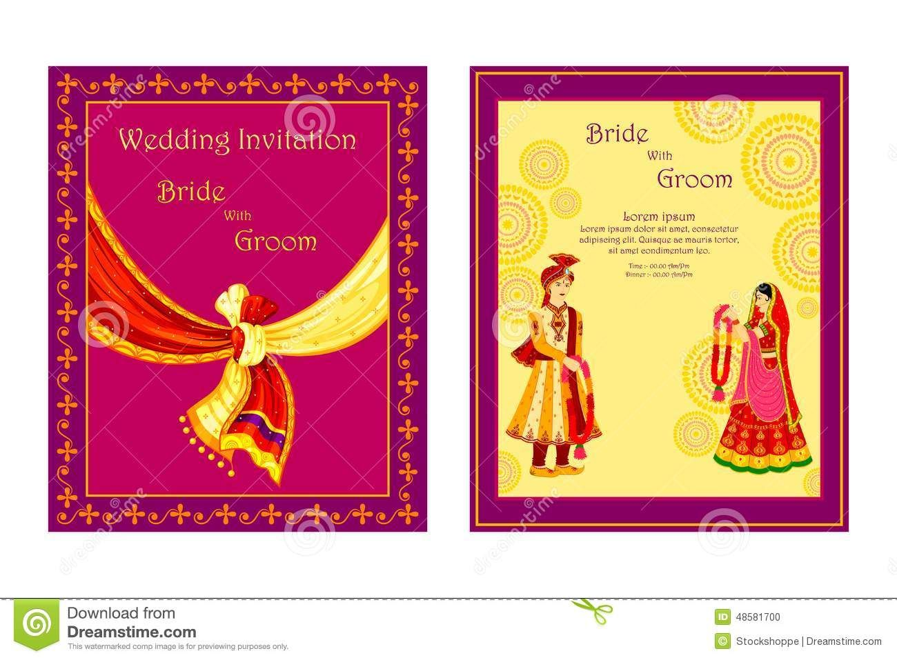 Indian Wedding Invitation Cards Designs The Day Is Roaching And You Also Should Select Invitations Which