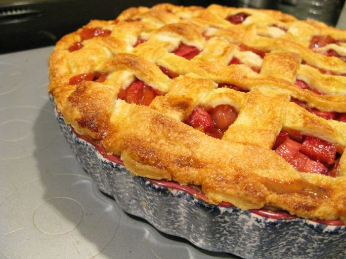 5.  Strawberry Rhubarb Pie