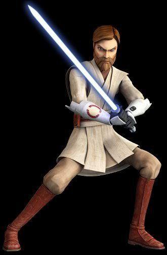 Obi Wans New Look Clone Wars Obi Wan Kenobi 23717328 330 505 Jpg Star Wars Images Star Wars History Star Wars Clone Wars