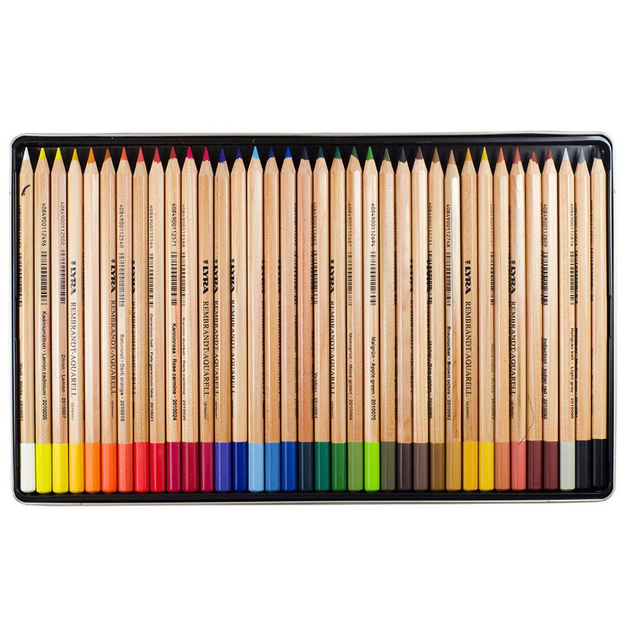 Amazon Com Lyra Rembrandt Polycolor Art Pencils Set Of 36