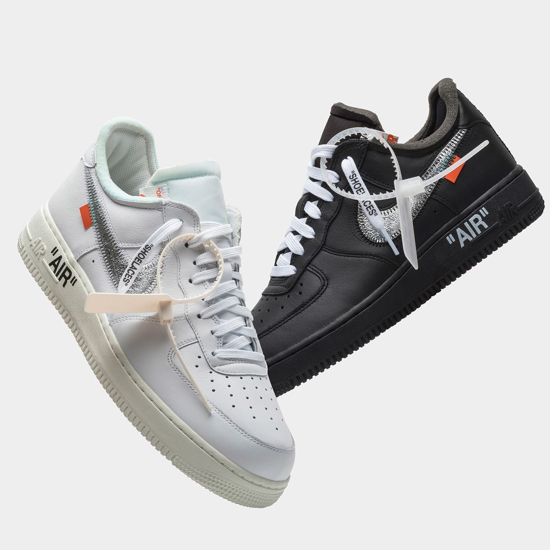uk availability 38480 54623 Virgil Abloh x Nike Air Force 1  07  Sneakers