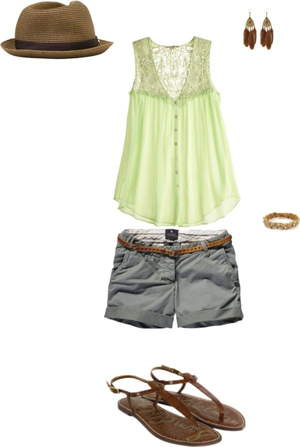Day in the park, created by vjoya on Polyvore