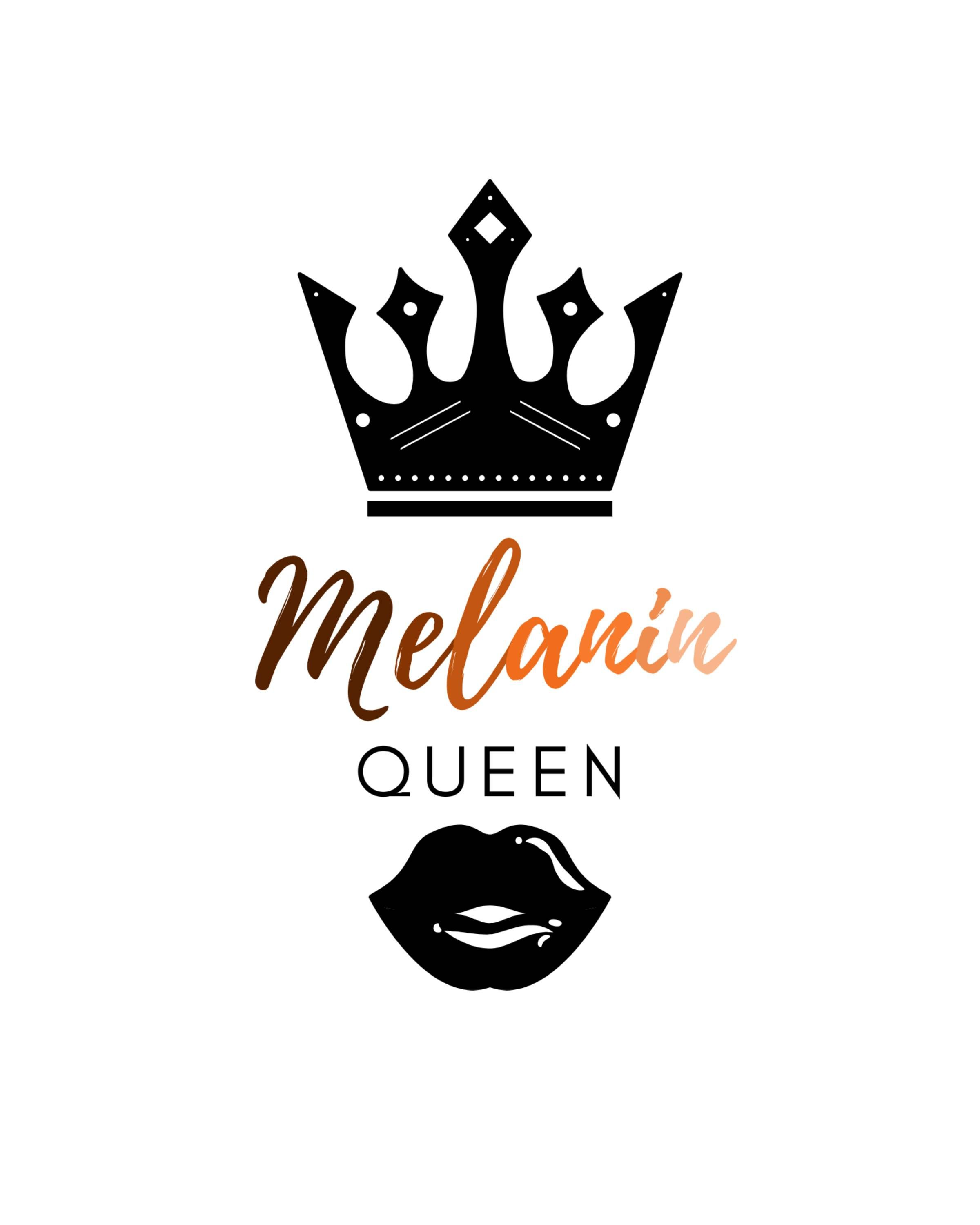 Melanin Queen Black Girl Magic Art Melanin Queen Melanin