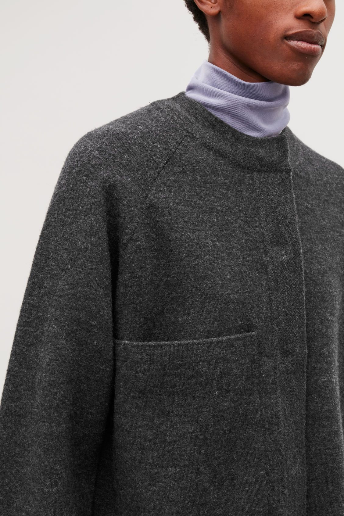 BOILED MERINO-WOOL JACKET | TRENDS WOMEN FASHION | Men
