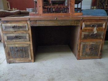 Beau Rustic Desk, Western Desk, Rustic Office Desk, Rustic Furniture, Western  Office
