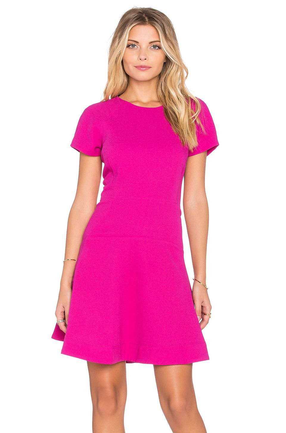 Klambee dress hot pink essentiel antwerp pinterest antwerp