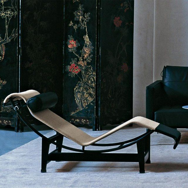 Cassina le corbusier lc4 chaise lounge charles le for Chaise lounge corbusier