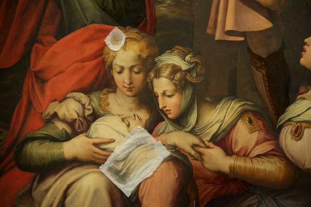 Giorgio Vasari (1511-1574) - Deposizione dalla Croce, dettaglio - Palazzo Doria Pamphilj, Roma