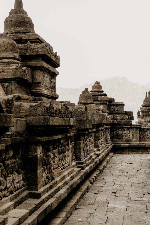 Candi Borobudur Fotografi Alam Pemandangan Foto Alam