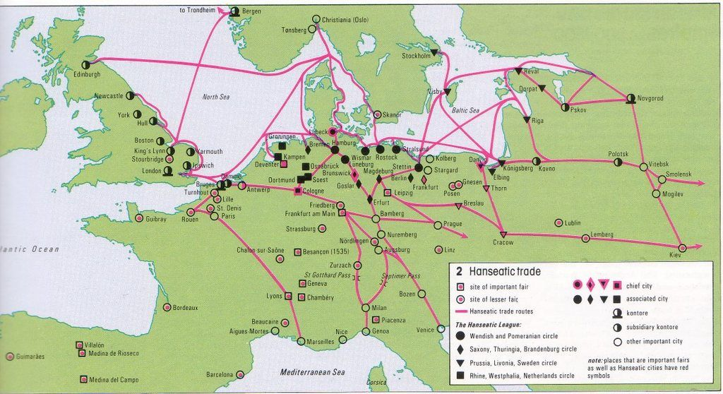 Trade Routes Between Europe And Asia During Antiquity Ancient