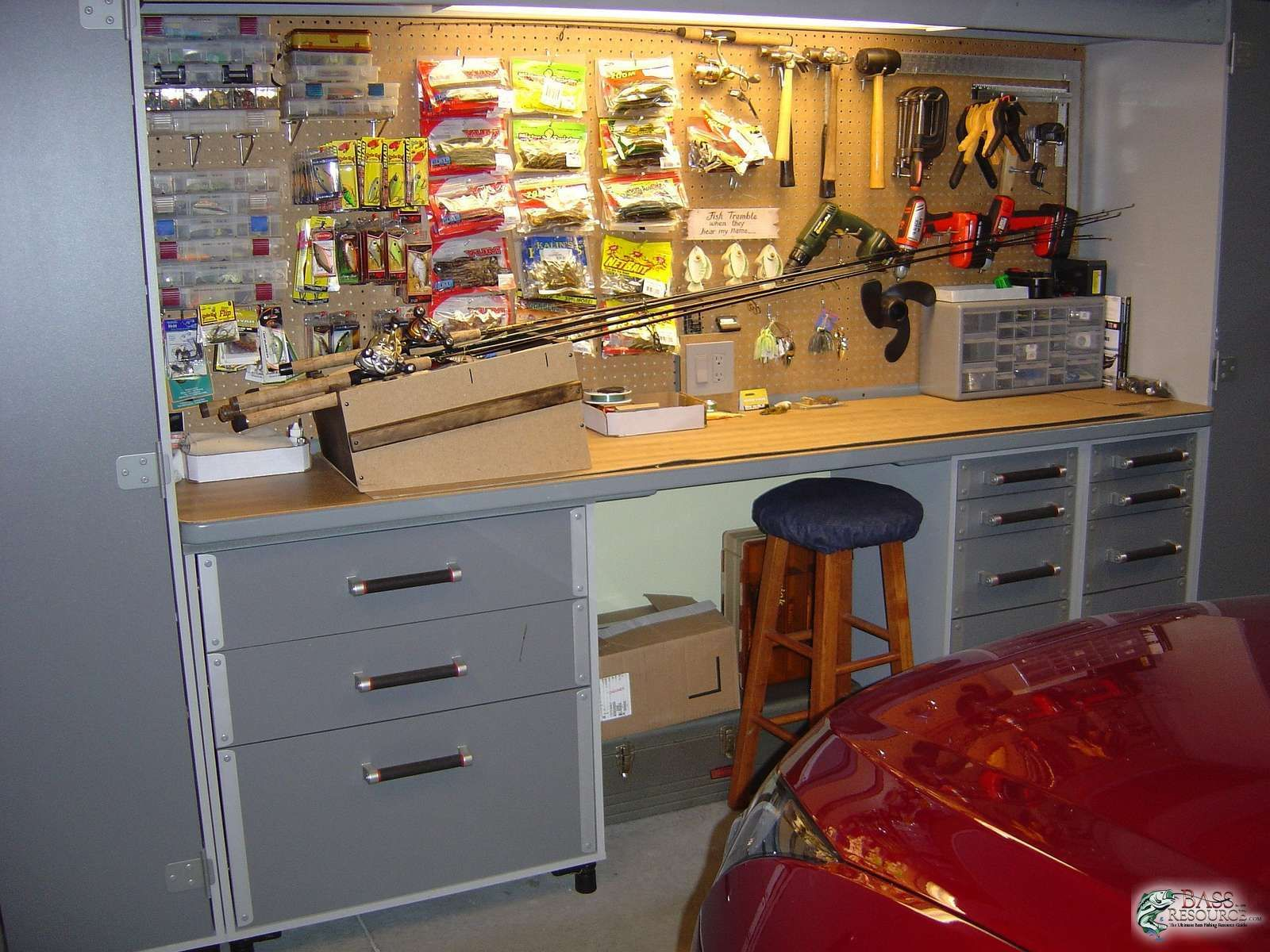 Fishing tackle storage for How to store fishing rods
