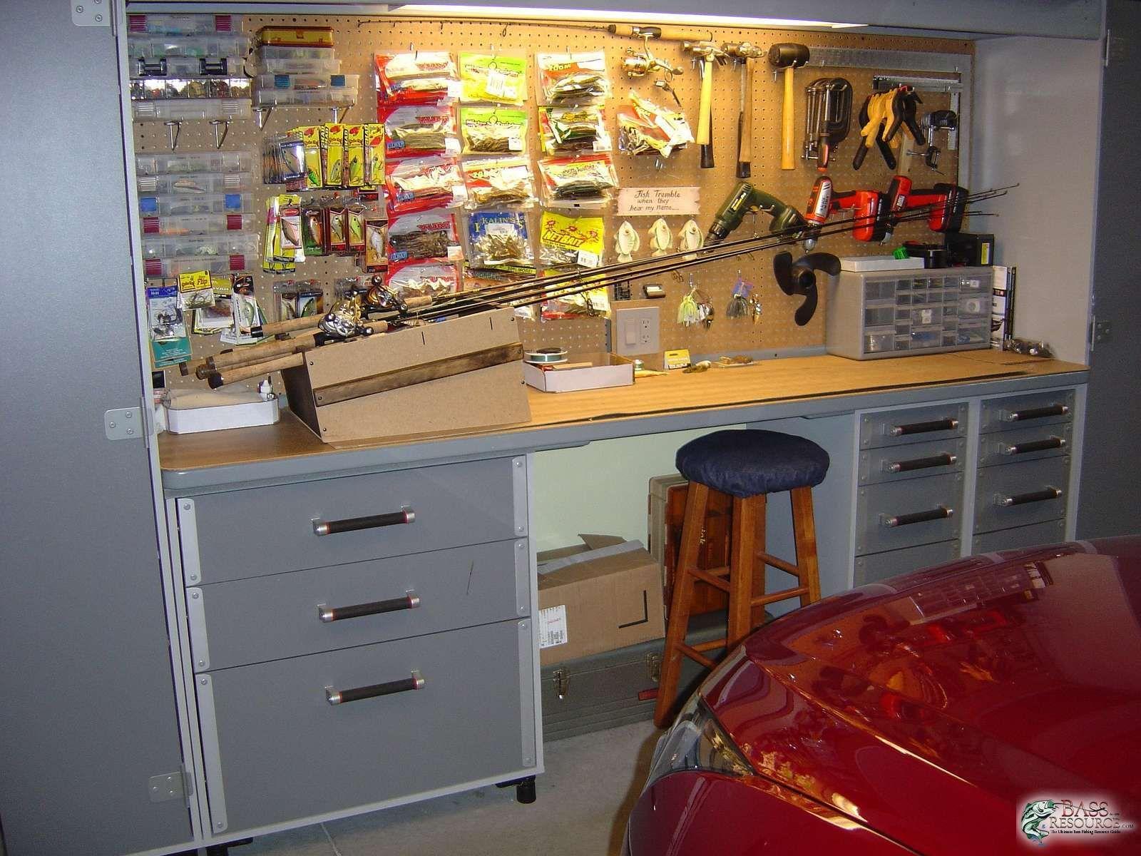 Fishing tackle storage for Fishing tackle organization