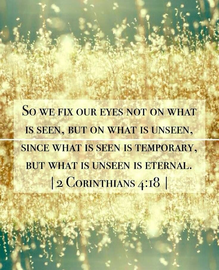 What is unseen.