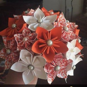 Pink Paper Flower Wall 8ft x 8ft Extra Large Paper Flowers Decoration Photo Backdrop Prop #paperflowercenterpieces