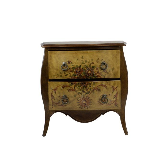 Cephas Hand Painted 2 Drawer Accent Chest   Accent chest ...