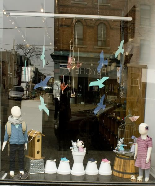 Recent Project: mini mioche Spring Window | recreative works blog