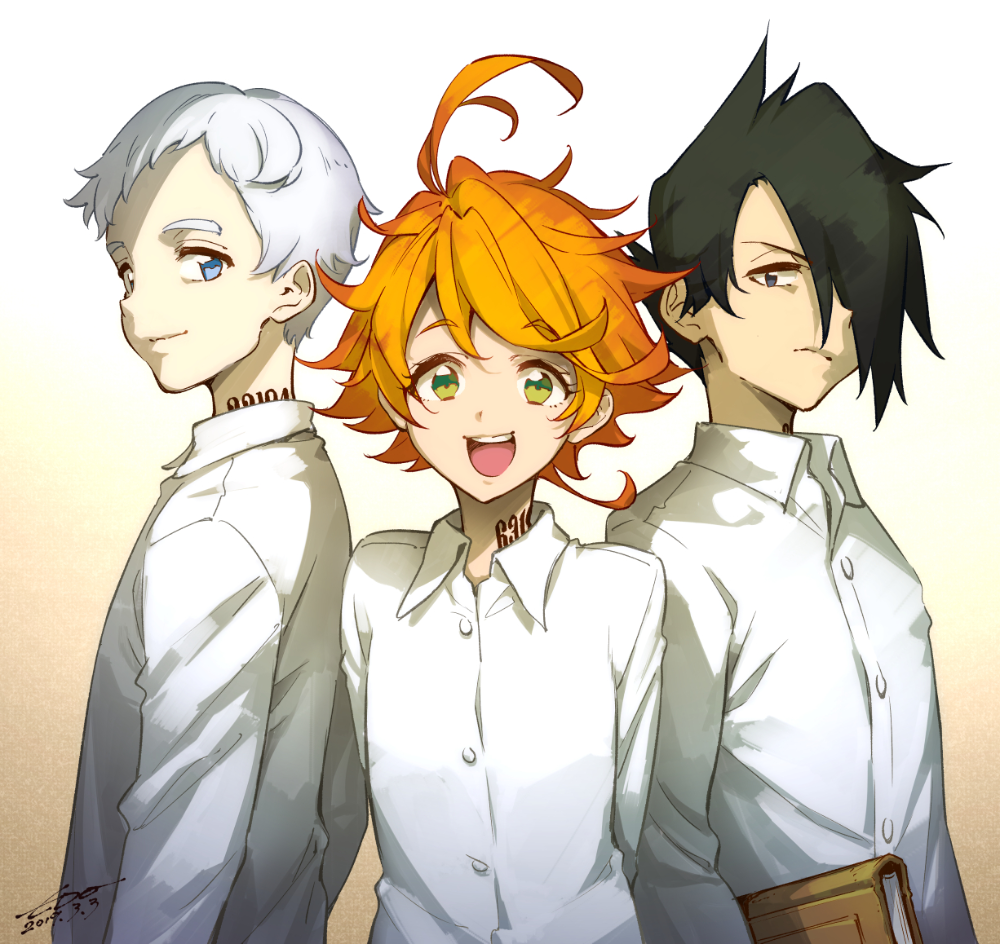 The Promised Neverland Norman Emma Ray Anime