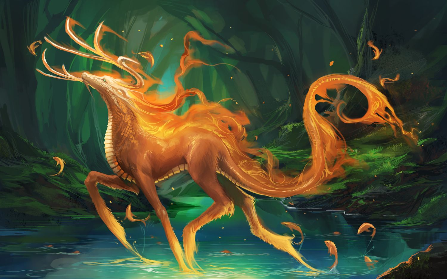 Mythical creature wallpaper | Magical Creatures Magical CrEaTures ...