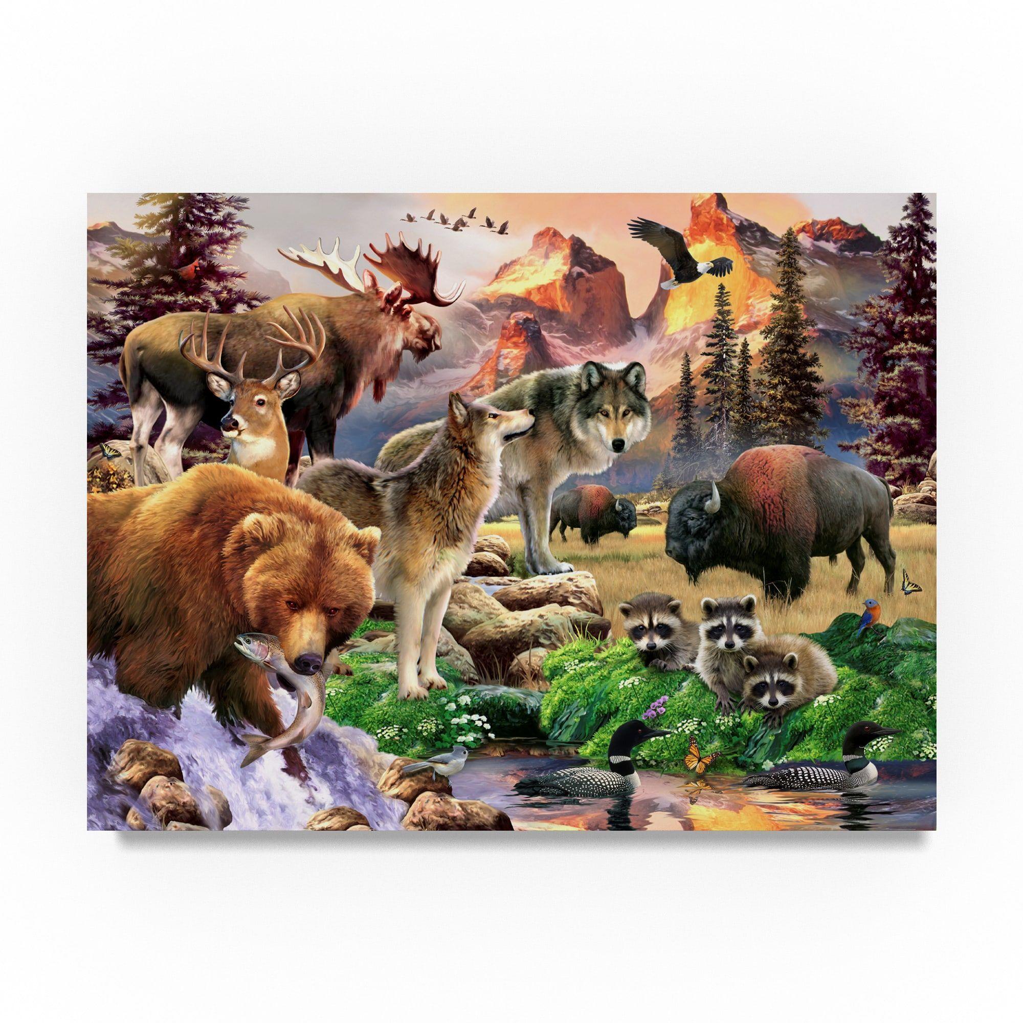 Wildlife Gallery 1000 Piece Puzzle