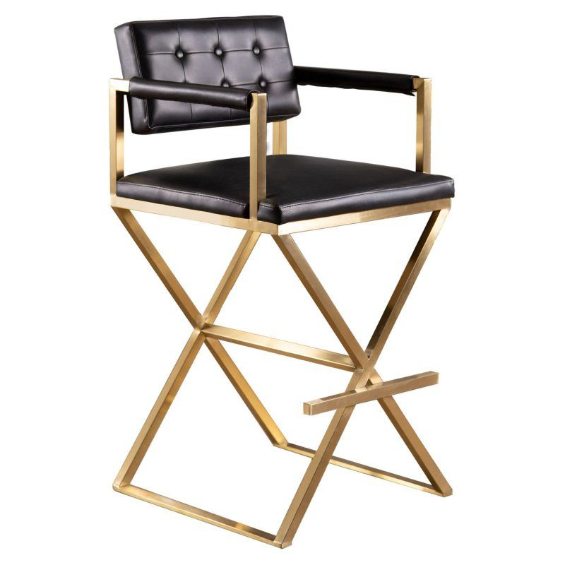 Marvelous Abbyson Landon Director Bar Stool Products In 2019 Bar Ibusinesslaw Wood Chair Design Ideas Ibusinesslaworg