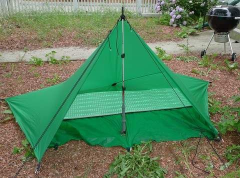 Square Tarp Pitches & Square Tarp Pitches | Ultralight Backpacking | Pinterest | Pitch ...