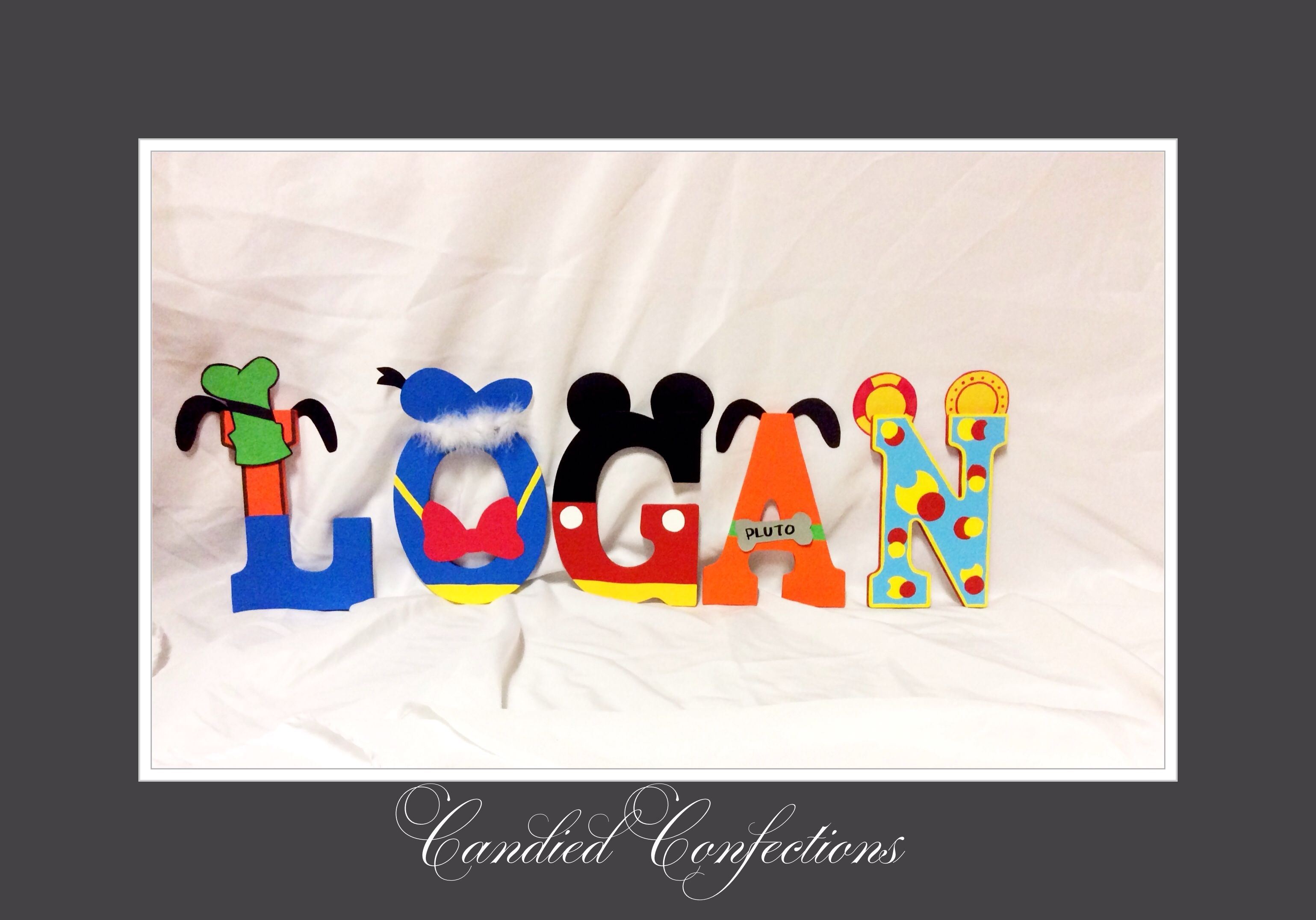 Mickey Mouse clubhouse letters | Mickey mouse clubhouse ...