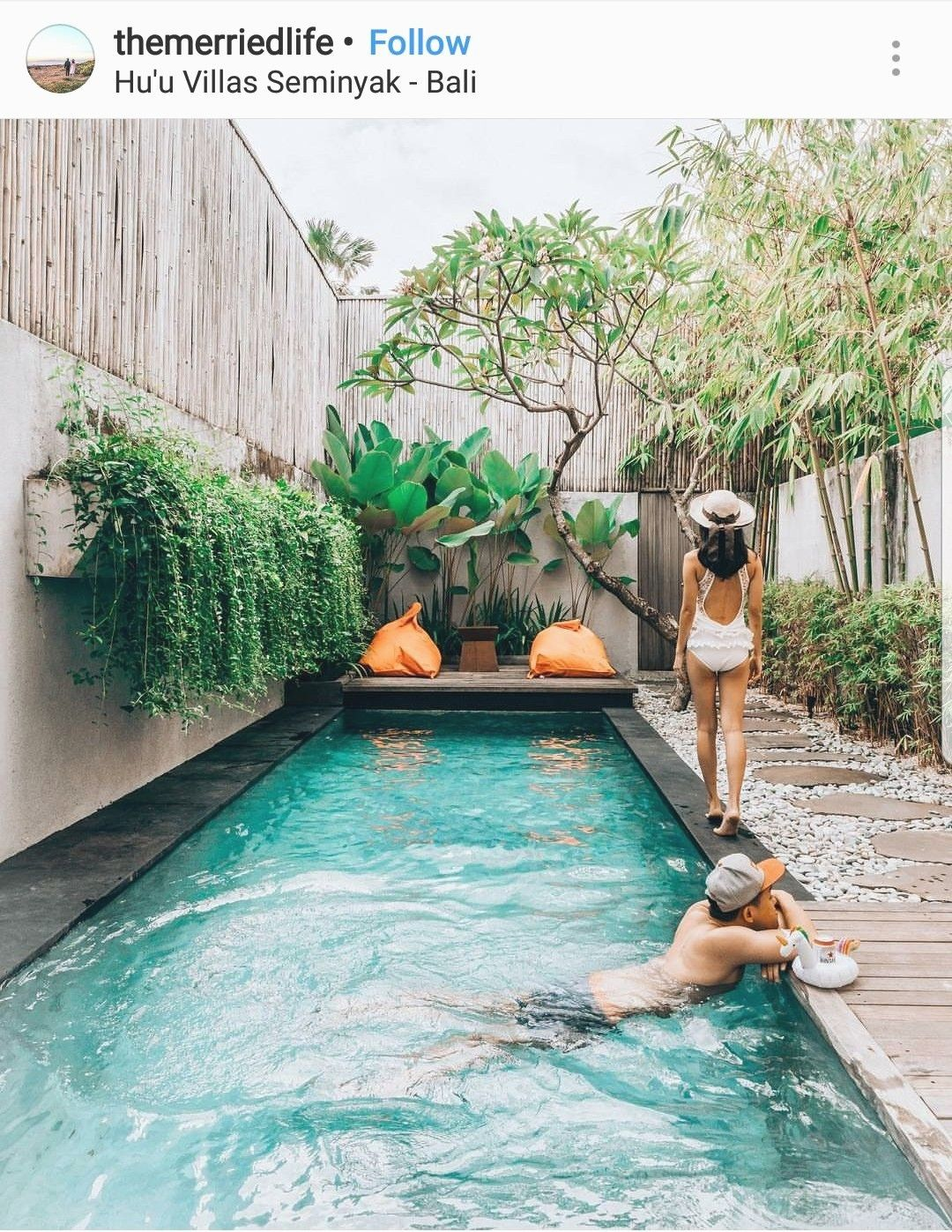 Backyard Pool Ideas Lounging By The Pool Along With Taking A Great Dip Periodically Can Really Make Summ Backyard Pool Swimming Pools Backyard Pool Waterfall