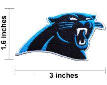 Carolina Panthers Iron On//Sew On Patch