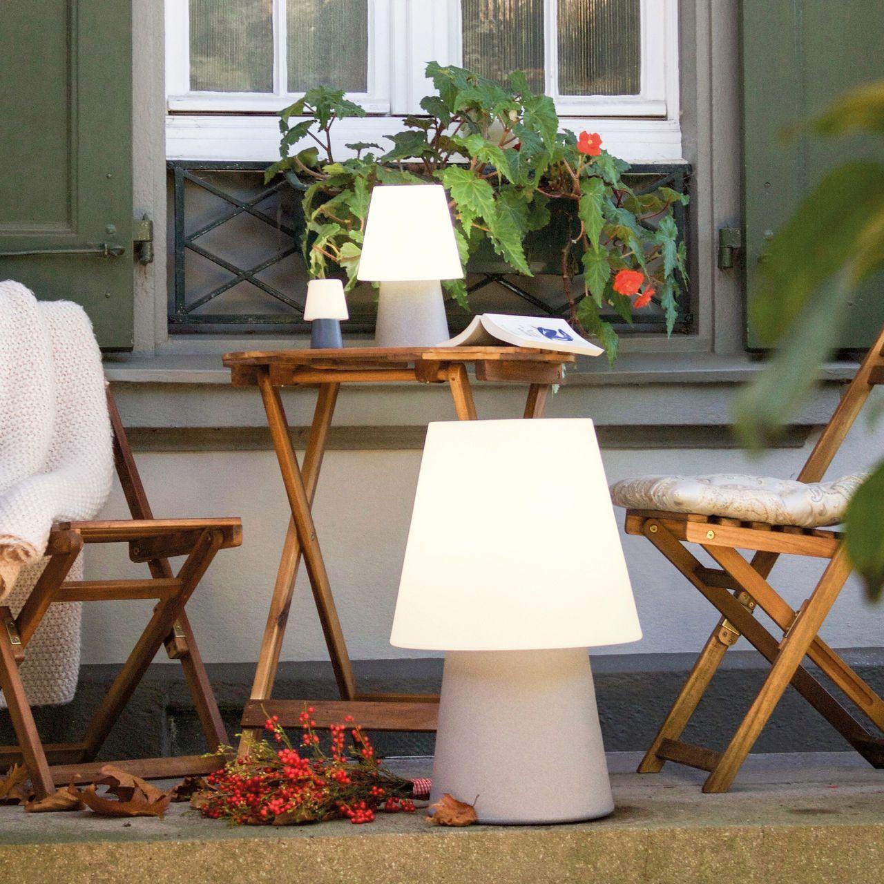 Terrassen Sitzecke gemütliche sitzecke auf der terrasse mit gemütlicher beleuchtung